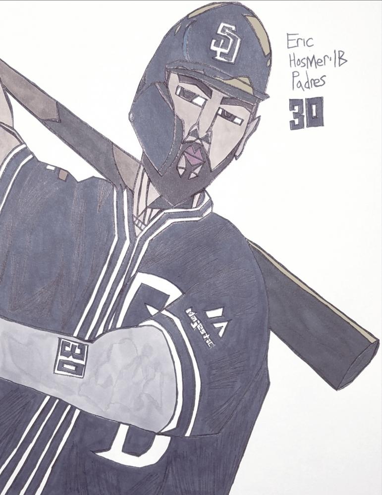 Eric Hosmer par armattock